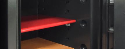 Phoenix Next LS7002FW Luxury Oak Panel 60 mins Fire Security Safe - shelf