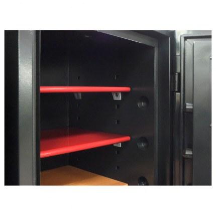 Phoenix Next LS7002FB Luxury Black 60 mins Fire Security Safe - felt line shelves