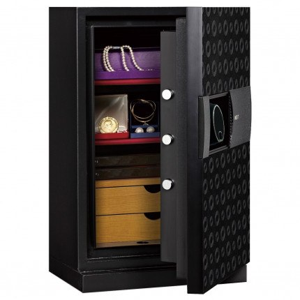 Phoenix Next LS7002FB Luxury Black 60 mins Fire Security Safe