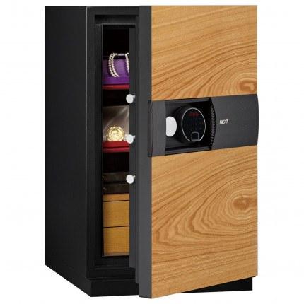 Phoenix Next LS7003FO Luxury Oak Panel 60 mins Fire Security Safe - door ajar