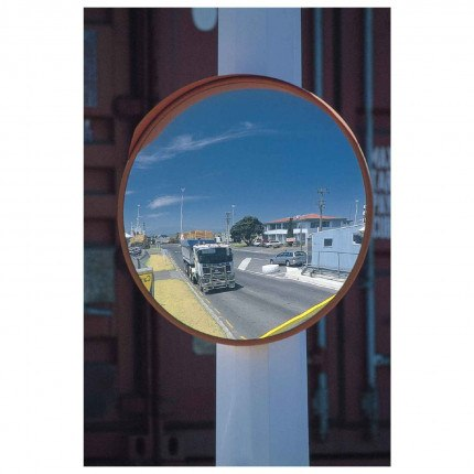 Stainless Steel Outdoor Convex Mirror - Securikey M16047C 450mm