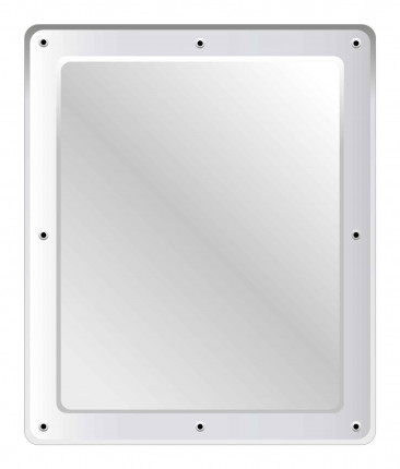 Securikey M16265R Stainless Steel Anti-Vandal Vanity Mirror 60x50cm