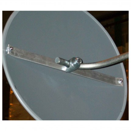 Outdoor Convex Mirror 450mm - Securikey Econovex - Rear Fixing