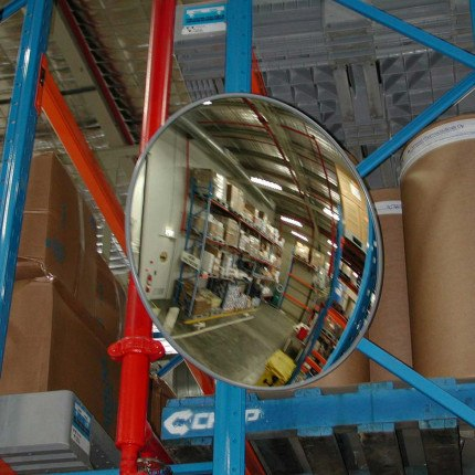 Securikey High Grade Wide Angle Interior Convex Mirror 600mm