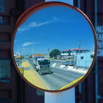 Heavy Duty Deluxe Exterior Mirror 600mm - Securikey M18066D
