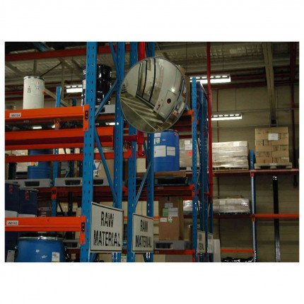 Securikey M18108J Interior Acrylic Convex Wall Mirror 900mm - industrial and warehouse use