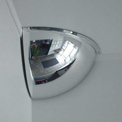 Securikey M18562H 1/4 Dome Convex Wall Mirror 450x450mm