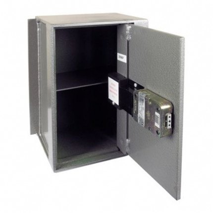 Churchill Magpie M4 wall safe showing the door open