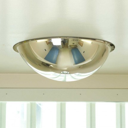 Securikey Anti-Ligature Institution Ceiling Dome Mirror 500mm