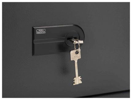 Burg Wachter Magno MT520S Eurograde 0 Key Lock Safe - High security key lock detail