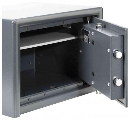 Burg Wachter Magno MT520S Eurograde 0 Key Lock Safe - interior