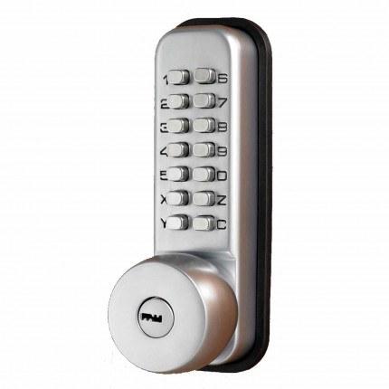 Keysecure Push Button Slam Shut Lock with Key Override