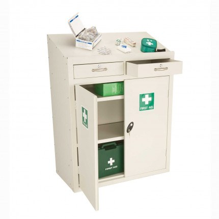 Probe MED-W/S Sloping Top Medical Cabinet 1060x915x460
