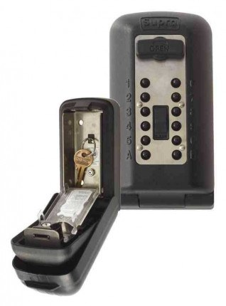 Supra P500 KeySafe Police Accredited Tamper Resistant Key Safe