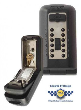 Supra P500 KeySafe Police Accredited Tamper Resistant Key Safe -  Secure Design Approved