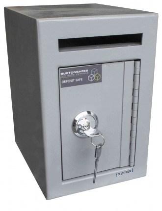 Burton Mini Teller Day Deposit Safe Key Locking
