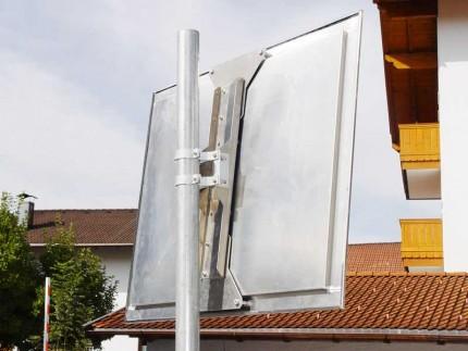 Moravia Durabel 2 Stainless Steel Traffic Mirror 600x800 rear view