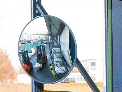 Moravia Spion 600mm Diameter Acrylic Convex Mirror