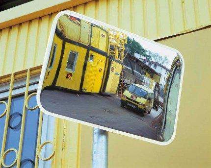 Moravia Spion 400x600mm Exterior Acrylic Convex Mirror