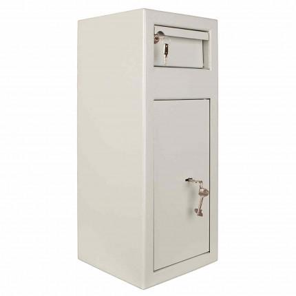 Protector MP1 Day Deposit Safe Key Lock door and deposit drawer closed