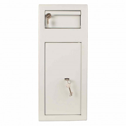 Protector MP1 Day Deposit Safe Key Lock - Front view