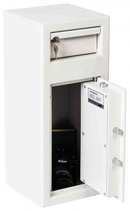 De Raat Protector MP1E £2000 Electronic Deposit Safe - door open
