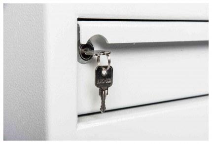 De Raat Protector MP2E £2000 Electronic Deposit Safe - hopper drawer closed