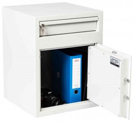 De Raat Protector MP2E £2000 Electronic Deposit Safe - door open