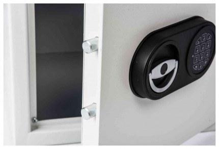 De Raat Protector MP2E £2000 Electronic Deposit Safe - door detail