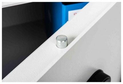 De Raat Protector MP2E £2000 Electronic Deposit Safe - door top bolt