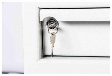 De Raat Protector MP2K £2000 Cash Deposit Safe - hopper door lock