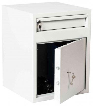De Raat Protector MP2K £2000 Cash Deposit Safe - door ajar