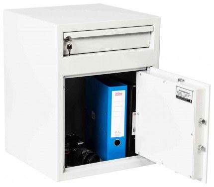 De Raat Protector MP2K £2000 Cash Deposit Safe - door open