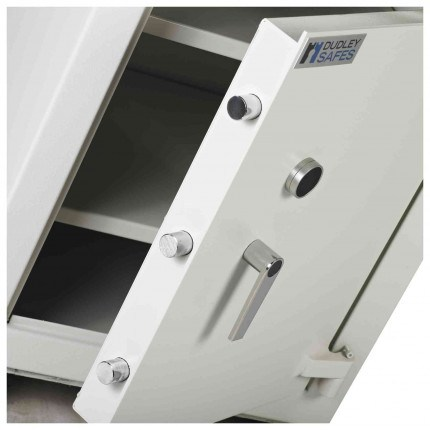 Dudley Multi Purpose Security Storage Cabinet Size 1 - Door bolts