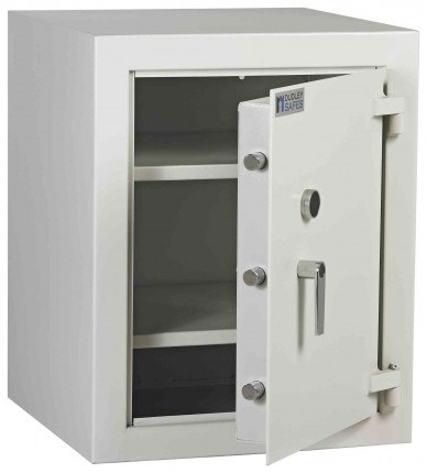 Dudley Multi Purpose Security Storage Cabinet Size 1 - Door ajar