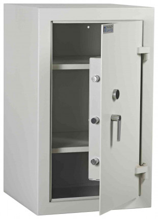 Dudley Multi Purpose Security Storage Cabinet Size 2 - door ajar