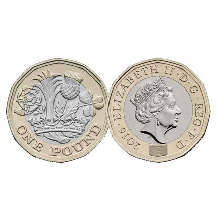 New £1 Coin Launch Date March 2017 - Order Black Rectangular Coin Lock Design