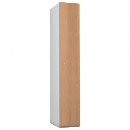 Probe 1 Door Oak TimberBox MDF Woodgrain Door Steel Locker