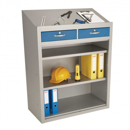 Probe Open W/S Sloping Top Lectern Cabinet 1060x915x460