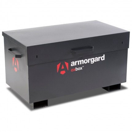 Armorgard Oxbox OX3 with lid fully closed
