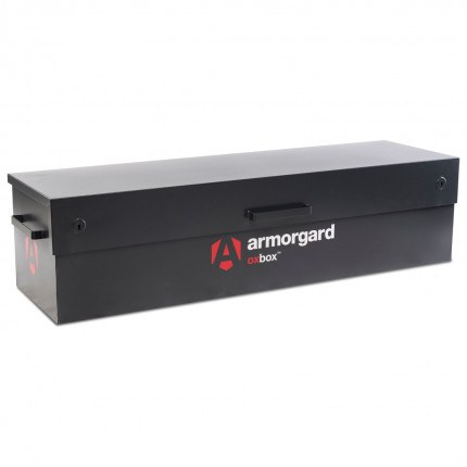 Armorgard Oxbox OX6 Large Van Box 1800mm wide with lid closed
