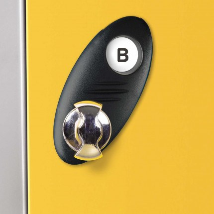 Probe Type B Hasp and Staple Lock for use with a Padlock or without if used just as a door latch