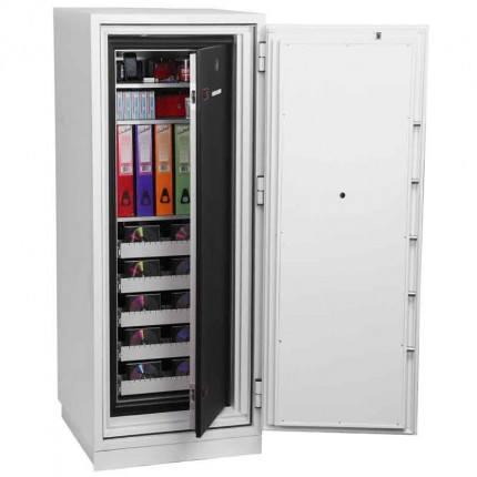 Phoenix Data Commander DS4622E 2 Hour Fire Data Safe - Both doors open