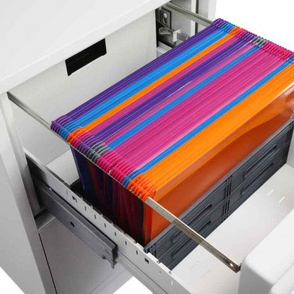 Phoenix Vertical Firefile FS2254E - open drawer