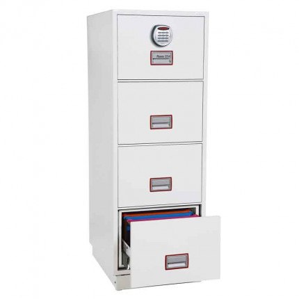 Phoenix Vertical Firefile FS2254E 4-Dr Electronic Filing Cabinet