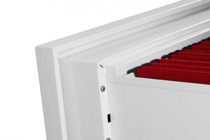 Phoenix Electronic Lock Lateral Firefile FS2414E 4-Dwr 60 mins - drawer open
