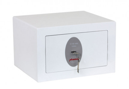 Phoenix Fortress SS1181K Compact Security Safe Key Lock - closed
