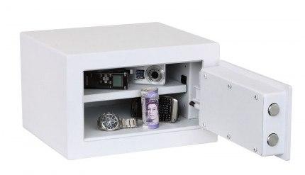 Phoenix Fortress SS1181K Compact Security Safe Key Lock - door open