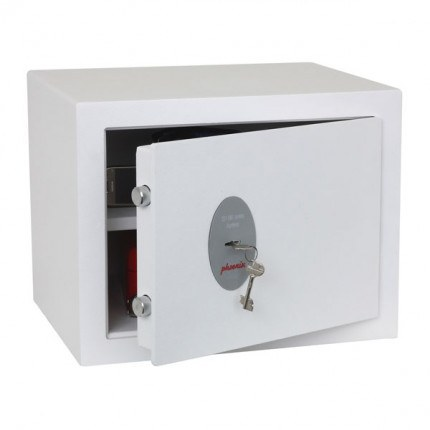 Phoenix Fortress SS1182K Security Safe Key Lock - door ajar