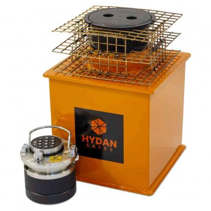 "Electronic Hydan Platinum Size 2 £35,000 Rated 12"" Round Door Floor Safe"